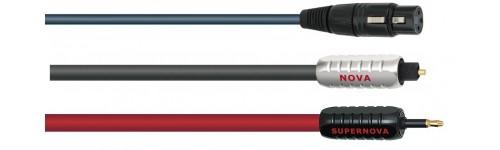 Wireworld  PRZEWODY CYFROWE TOSLINK (OPTYCZNE) PRZEWODY CYFROWE AES/EBU (110-ohm XLR female + XLR male)